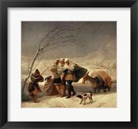 Framed Snowstorm, 1786-87