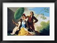 Framed Parasol, 1777