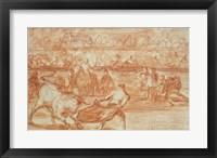 Framed Bullfighting