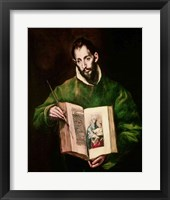 Framed St. Luke