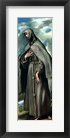 Framed St.Francis of Assisi