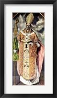 Framed St. Ildefonso