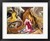 Framed Agony in the Garden of Gethsemane