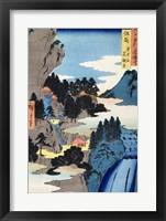 Framed Mountain landscape