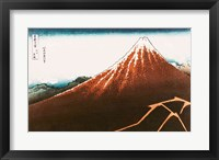 Framed Fuji above the Lightning