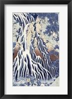Framed Kirifuri Fall on Kurokami Mount