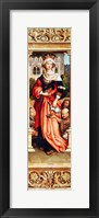 Framed St. Elizabeth of Hungary