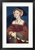 Framed Jane Seymour, 1536