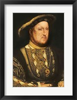 Framed Portrait of Henry VIII