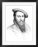 Framed Sir Thomas Wyatt