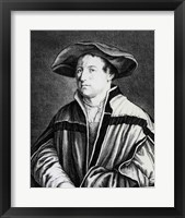 Framed Hans Holbein the Younger