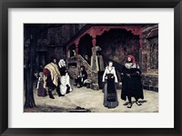 Framed Meeting of Faust and Marguerite, 1860