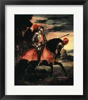 Framed Emperor Charles V