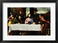 Framed Supper at Emmaus