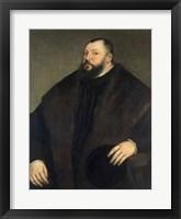 Framed Elector Johann Freidrich ven Sachsen