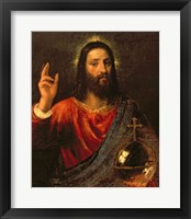 Framed Christ Saviour