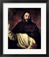 Framed St. Dominic