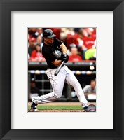 Framed Mike Stanton 2011 Action
