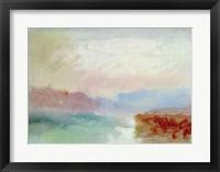 Framed River scene, 1834
