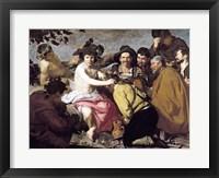 Framed Triumph of Bacchus, 1628