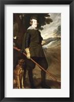 Framed Philip IV King of Spain