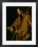 Framed Apostle St. Thomas