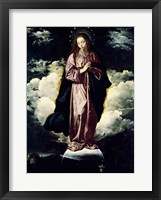 Framed Immaculate Conception