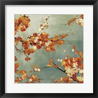 Framed Orange Blossoms II