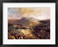 Framed Crusaders Before Jerusalem
