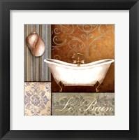 Framed Le Bain