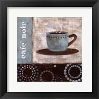 Cafe Noir Framed Print