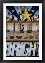 Framed Star Light Star Bright