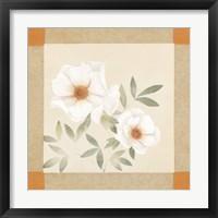 Framed Magnolia Tile II
