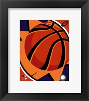 Framed Phoenix Suns Team Logo