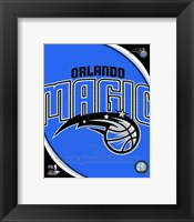 Framed Orlando Magic Team Logo