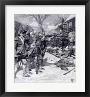 Framed 'Boston Massacre'