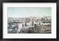 Framed View of Utica City, New York State