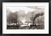 Framed Naval Bombardment of Vera Cruz