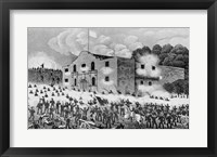 Framed Siege of the Alamo
