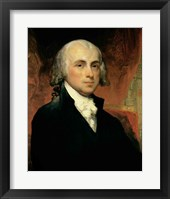 Framed James Madison