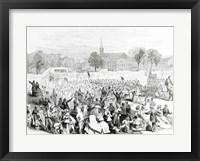 Framed Celebration of the Abolition of Slavery