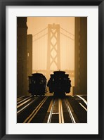 Framed Cable Cars, San Francisco