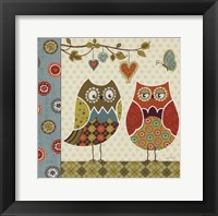 Owl Wonderful I Framed Print
