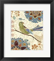 Eastern Tales Birds II Framed Print