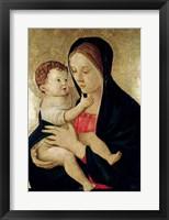 Framed Madonna and Child