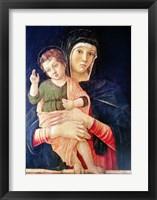 Framed Virgin and Child Blessing