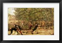 Framed Assassination of St. Peter Martyr