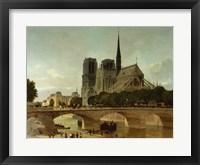 Framed Notre Dame, Paris, 1884
