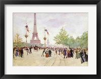 Framed Entrance to the Exposition Universelle, 1889