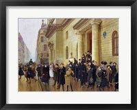 Framed Leaving the Lycee Condorcet, 1903